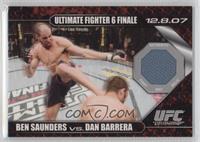 Ben Saunders vs Dan Barrera