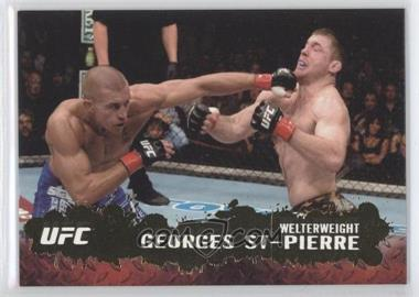 2009 Topps UFC Round 2 - [Base] - Gold #100 - Georges St-Pierre
