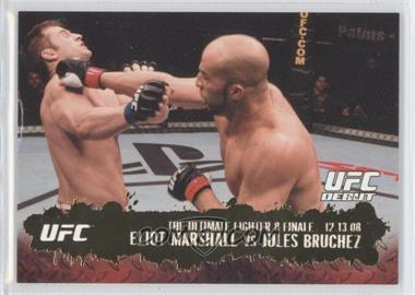 2009 Topps UFC Round 2 - [Base] - Gold #114 - Eliot Marshall vs Jules Bruchez
