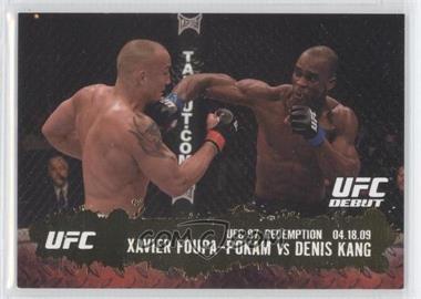 2009 Topps UFC Round 2 - [Base] - Gold #134 - Xavier Foupa-Pokam vs Denis Kang