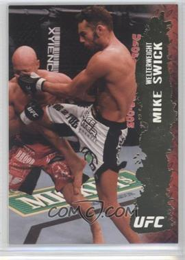 2009 Topps UFC Round 2 - [Base] - Gold #95 - Mike Swick