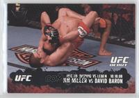 Jim Miller vs David Baron /188