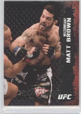 2009 Topps UFC Round 2 - [Base] - Silver #41 - Matt Brown /188
