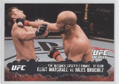 2009 Topps UFC Round 2 - [Base] #114 - Eliot Marshall vs Jules Bruchez