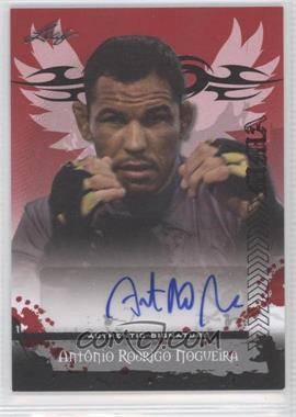 "2010 Leaf MMA - Autographs #AU-AN2 - Antonio Rodrigo ""Minotauro"" Nogueira"