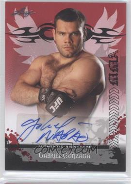 2010 Leaf MMA - Autographs #AU-GG1 - Gabriel Gonzaga