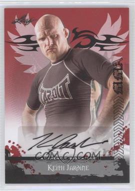2010 Leaf MMA - Autographs #AU-KJ1 - Keith Jardine