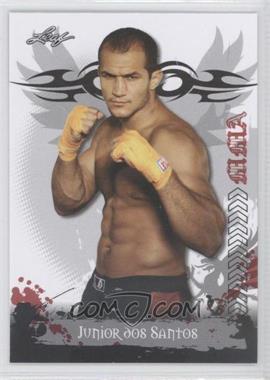2010 Leaf MMA - [Base] #2 - Junior Dos Santos