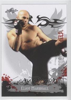 2010 Leaf MMA - [Base] #33 - Eliot Marshall