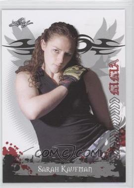 2010 Leaf MMA - [Base] #72 - Sarah Kaufman