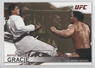 2010 Topps UFC Knockout - [Base] - Gold #1 - Royce Gracie /288