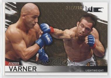 2010 Topps UFC Knockout - [Base] - Gold #118 - Jamie Varner /288
