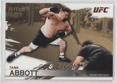 "2010 Topps UFC Knockout - [Base] - Gold #6 - David ""Tank"" Abbott /288"