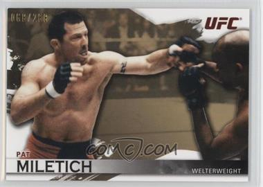 2010 Topps UFC Knockout - [Base] - Gold #7 - Pat Miletich /288