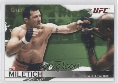 2010 Topps UFC Knockout - [Base] - Green #7 - Pat Miletich /88