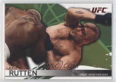2010 Topps UFC Knockout - [Base] - Green #8 - Bas Rutten /88
