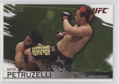 2010 Topps UFC Knockout - [Base] - Green #81 - Seth Petruzelli /88