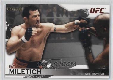 2010 Topps UFC Knockout - [Base] - Silver #7 - Pat Miletich /188