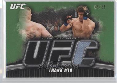2010 Topps UFC Knockout - Fight Mat Relic - Green #FM-FM - Frank Mir /88