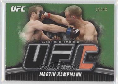 2010 Topps UFC Knockout - Fight Mat Relic - Green #FM-MK - Martin Kampmann /88
