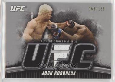 2010 Topps UFC Knockout - Fight Mat Relic - Silver #FM-JK - Josh Koscheck /188