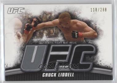 2010 Topps UFC Knockout - Fight Mat Relic #FM-CLI - Chuck Liddell /288