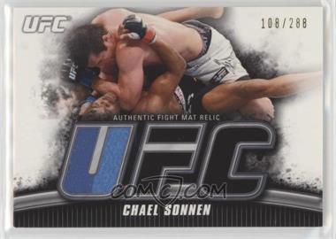 2010 Topps UFC Knockout - Fight Mat Relic #FM-CS - Chael Sonnen /288