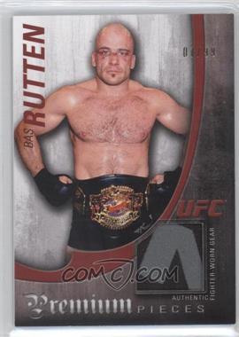 2010 Topps UFC Knockout - Premium Pieces Relics #PP-BR - Bas Rutten /99