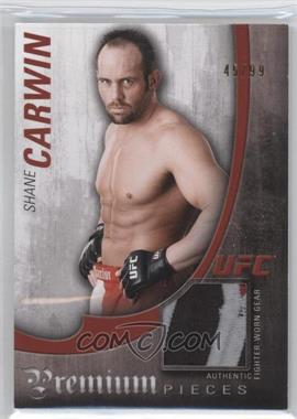 2010 Topps UFC Knockout - Premium Pieces Relics #PP-SC - Shane Carwin /99