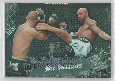 2010 Topps UFC Main Event - [Base] - Black #102 - Ben Saunders /188