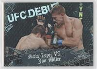 Steve Lopez vs Jim Miller #/188