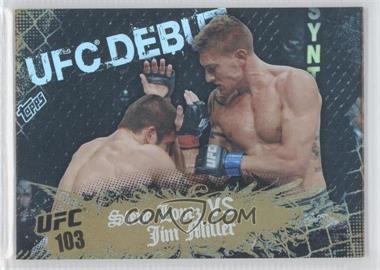 2010 Topps UFC Main Event - [Base] - Gold #137 - Steve Lopez, Jim Miller