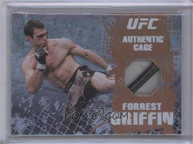 2010 Topps UFC Main Event - Cage Relics - Bronze #CR-FG - Forrest Griffin /88