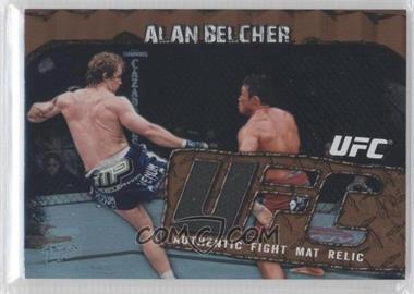 2010 Topps UFC Main Event - Fight Mat Relics - Bronze #FMR-AB - Alan Belcher