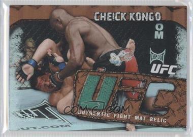 2010 Topps UFC Main Event - Fight Mat Relics - Bronze #FMR-CK - Cheick Kongo