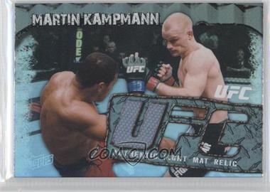2010 Topps UFC Main Event - Fight Mat Relics #FMR-MK - Martin Kampmann