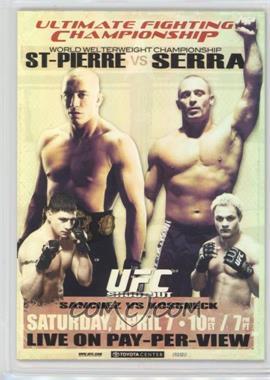 2010 Topps UFC Main Event - Fight Poster Review #FPR-UFC69 - UFC 69