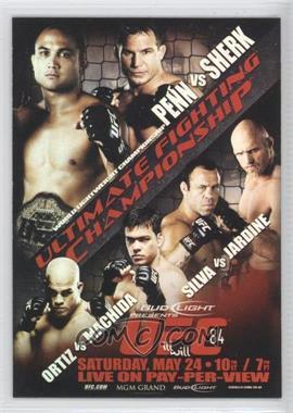 2010 Topps UFC Main Event - Fight Poster Review #FPR-UFC84 - B.J. Penn, Sean Sherk