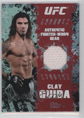 2010 Topps UFC Main Event - Fighter Gear Relics #FR-CG - Clay Guida