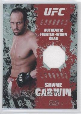 2010 Topps UFC Main Event - Fighter Gear Relics #FR-SC - Shane Carwin