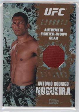 """2010 Topps UFC Main Event - Fighter-Worn Relics - Bronze #FR-ARN - Antonio Rodrigo """"Minotauro"""" Nogueira /88"""