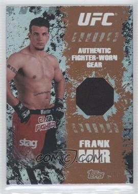 2010 Topps UFC Main Event - Fighter-Worn Relics - Bronze #FR-FM - Frank Mir /88