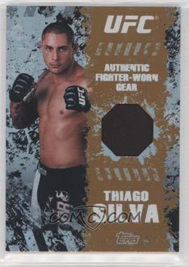 2010 Topps UFC Main Event - Fighter-Worn Relics - Bronze #FR-TS - Thiago Silva /88