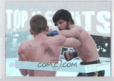 2010 Topps UFC Main Event - Top 10 Fights of 2009 #TT09 19 - Sam Stout, Matt Wiman
