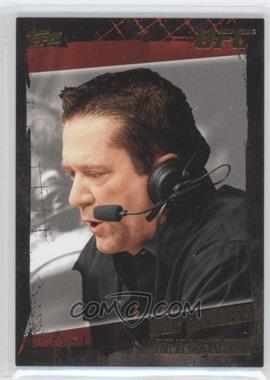 2010 Topps UFC Series 4 - [Base] - Gold #168 - Mike Goldberg
