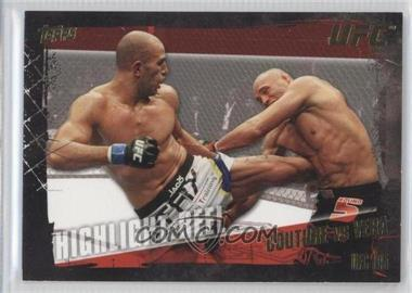 2010 Topps UFC Series 4 - [Base] - Gold #197 - Highlight Reel - Randy Couture vs Brandon Vera