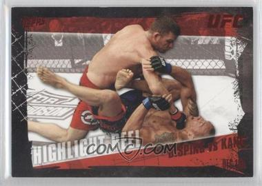 2010 Topps UFC Series 4 - [Base] - Red #195 - Highlight Reel - Michael Bisping vs Denis Kang /8