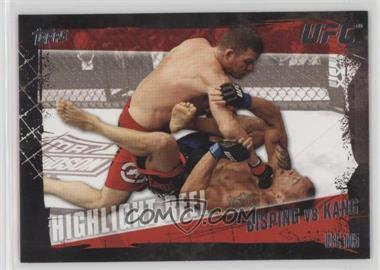 2010 Topps UFC Series 4 - [Base] #195 - Highlight Reel - Michael Bisping vs Denis Kang