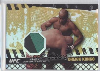 2010 Topps UFC Series 4 - Fight Mat Relics - Gold #FM-CK - Cheick Kongo /188
