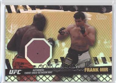 2010 Topps UFC Series 4 - Fight Mat Relics - Gold #FM-FM - Frank Mir /188